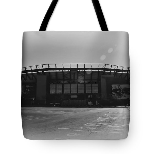 The Linc In Black And White Tote Bag by Bill Cannon