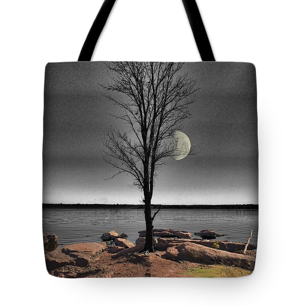 The Lonely Tree Tote Bag by Betty LaRue