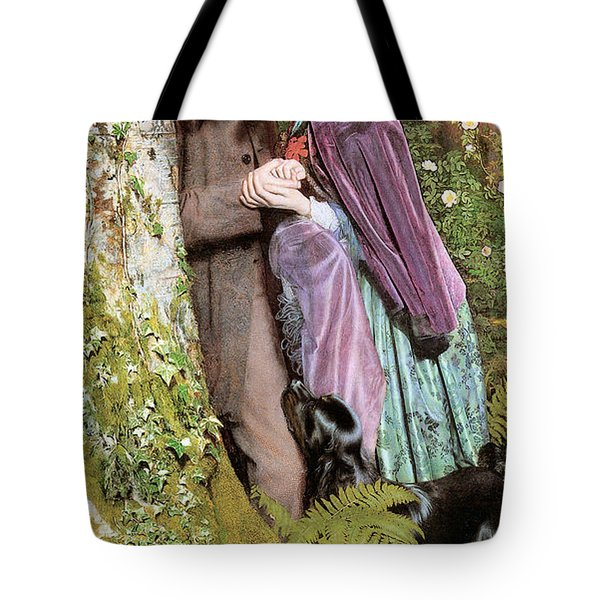 The Long Engagement Tote Bag by Arthur Hughes