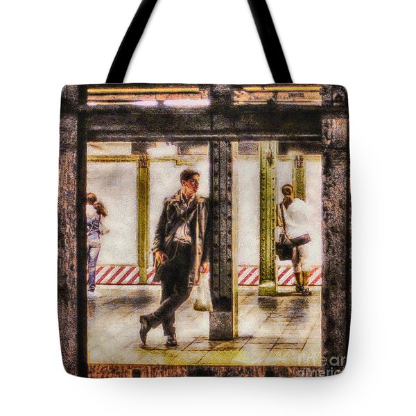 The Long Wait Tote Bag by Nishanth Gopinathan