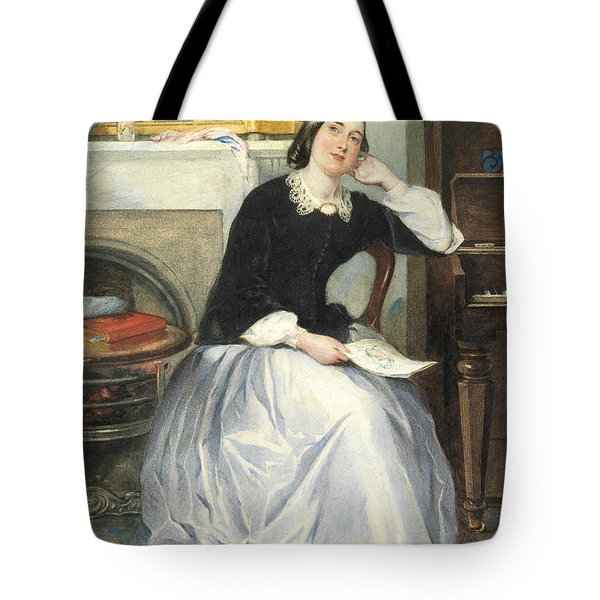 The Love Token Tote Bag by Frederick Walker