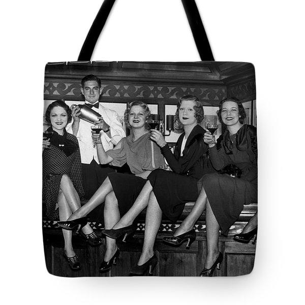 The Lucky Bartender Tote Bag by Jon Neidert