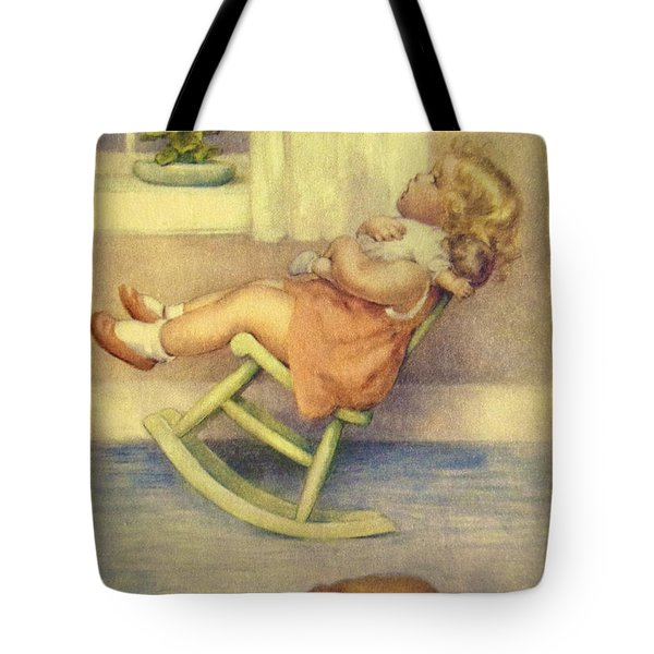 The Lullaby Tote Bag by Bessie Pease Gutmann