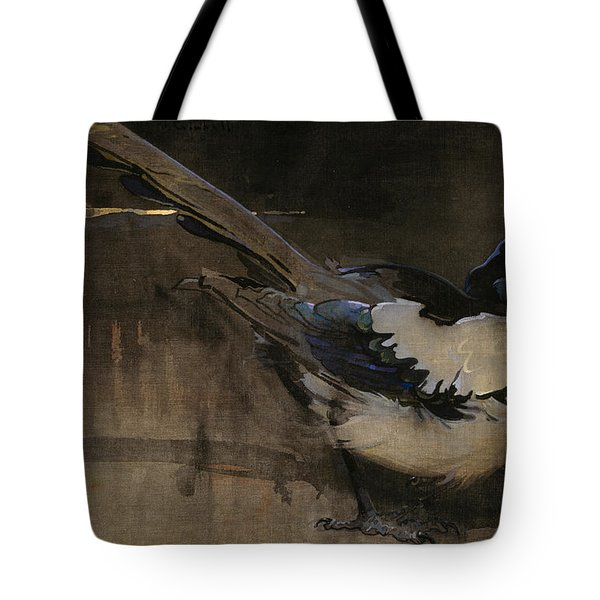The Magpie Tote Bag by Joseph Crawhall