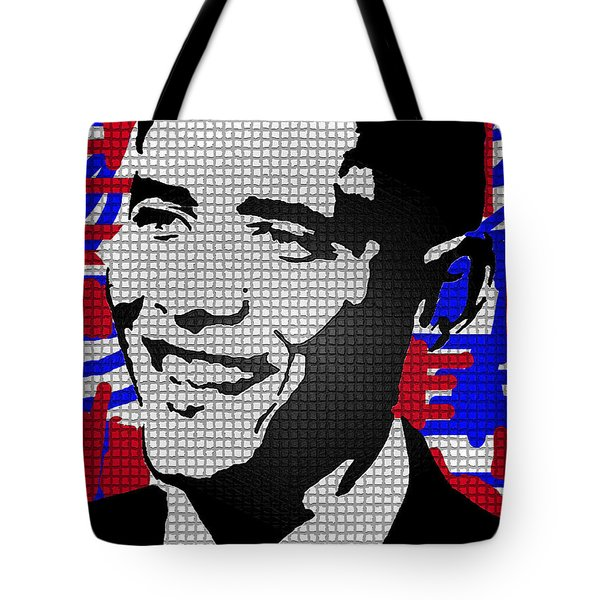 THE MAN WHO KILLED OSAMA  Tote Bag by Robert Margetts