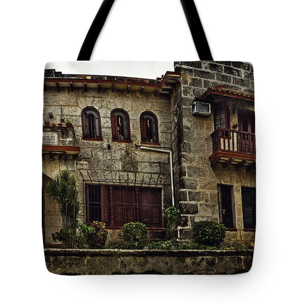 The Manor Tote Bag by Audrey Wilkie
