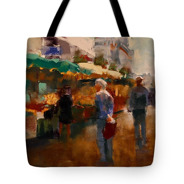 The Market Tote Bag by David Patterson