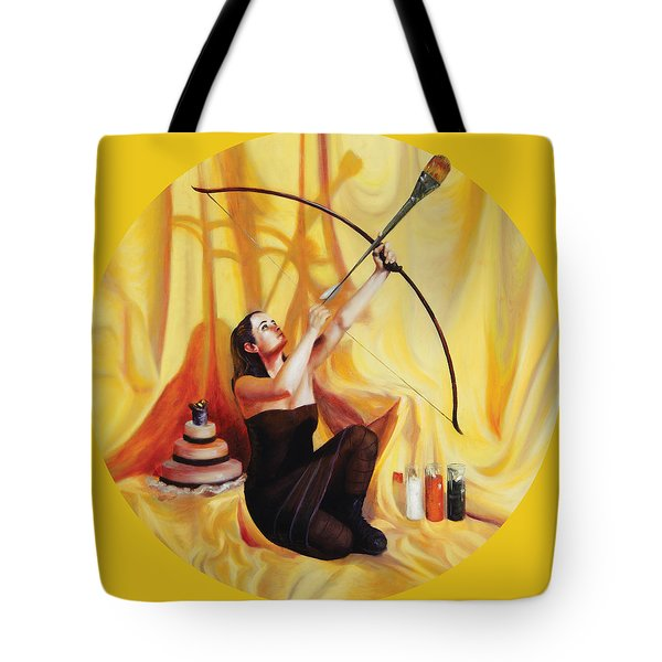 The Markswoman Tote Bag by Shelley Irish