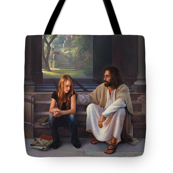 The Master's Touch Tote Bag by Greg Olsen