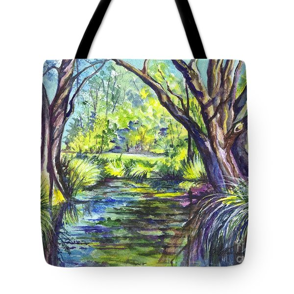 The Melaleucas Tote Bag by Carol Wisniewski