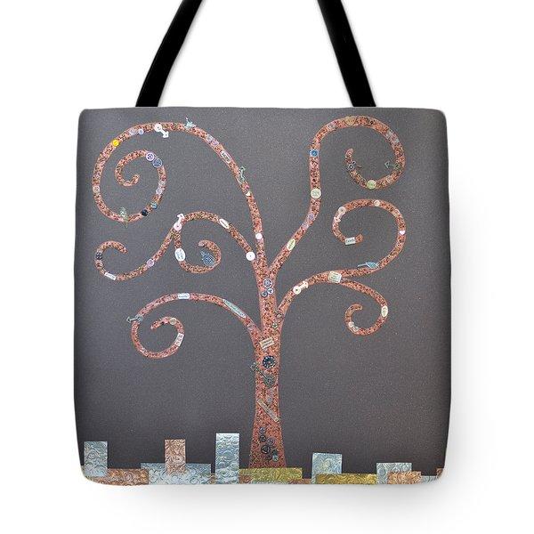 The Menoa Tree Tote Bag by Angelina Vick