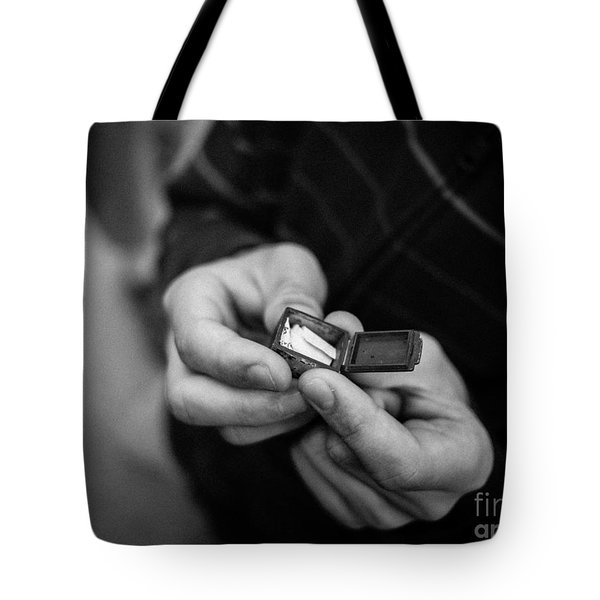The Message Tote Bag by Edward Fielding