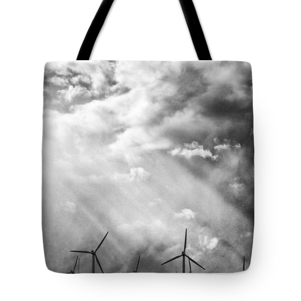 The Mighty Wind Palm Springs Tote Bag by William Dey
