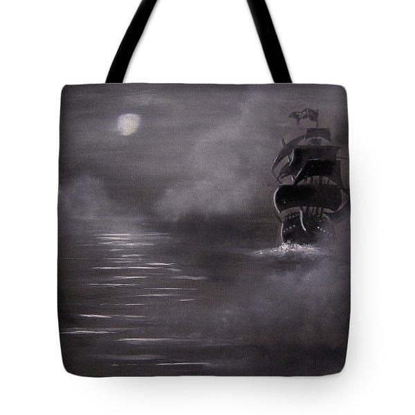 The Mist Tote Bag by Eugene Budden
