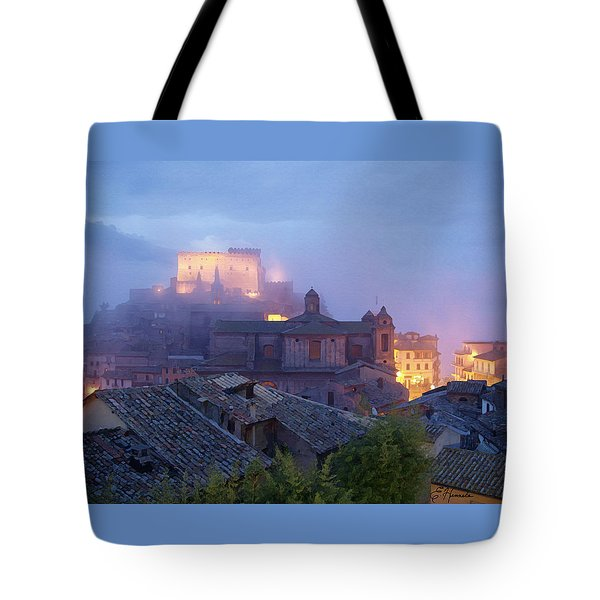 The Mists Of Soriano Tote Bag by Ellen Henneke