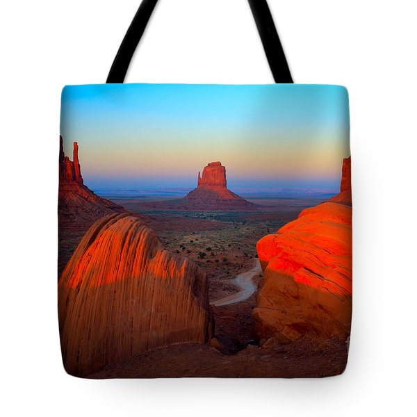 The Mittens Tote Bag by Inge Johnsson