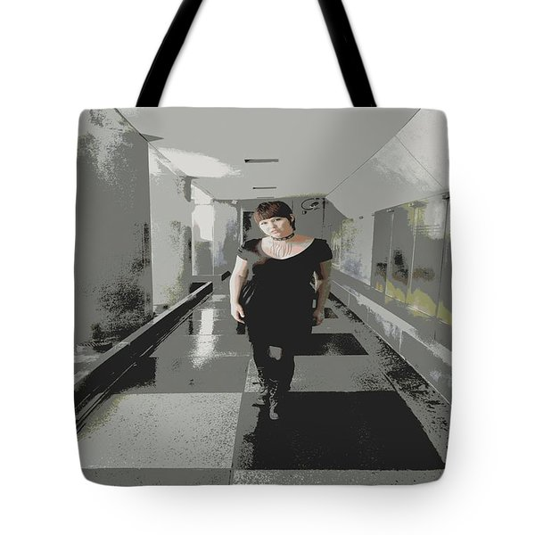 The Mix Tote Bag by Nick David