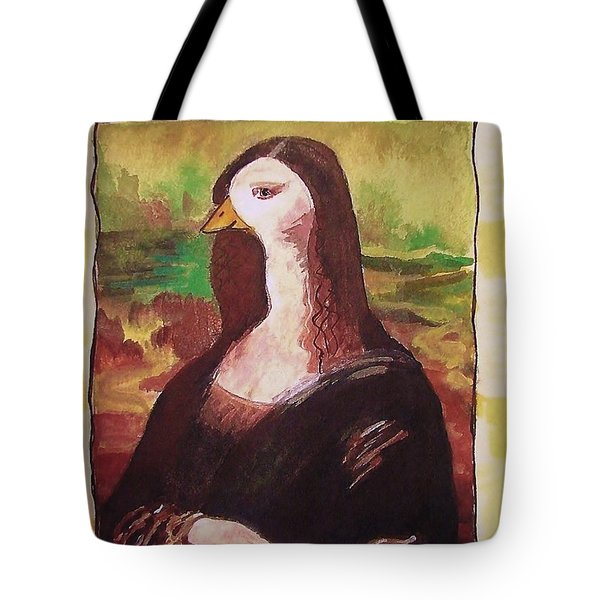 The Mona Goosa Tote Bag by Margaret Bobb
