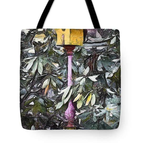 The Monkey's Garden Tote Bag by Trish Tritz