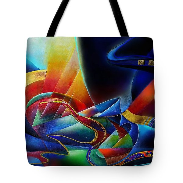 The Morning Tote Bag by Wolfgang Schweizer
