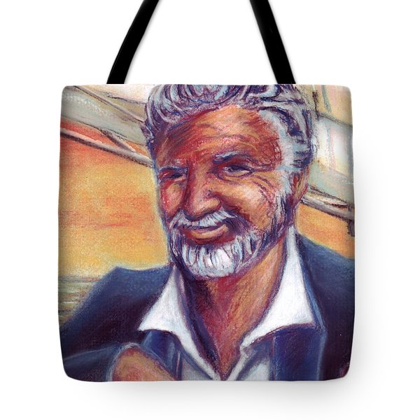 The Most Interesting Man in the World Tote Bag by Samantha Geernaert
