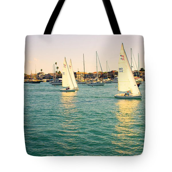 The Mystery Of Sailing Tote Bag by Angela A Stanton