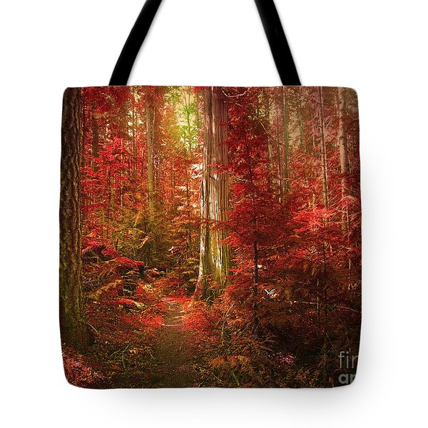 The Mystic Forest Tote Bag by Tara Turner