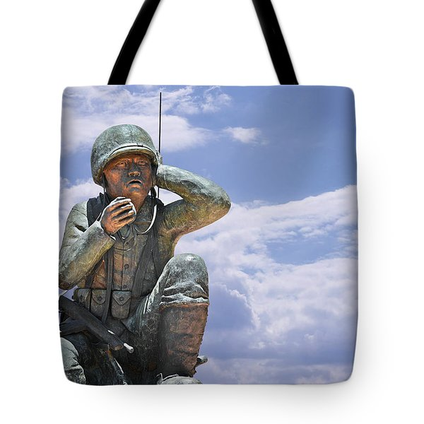 The Navajo Code Talkers Tote Bag by Christine Till