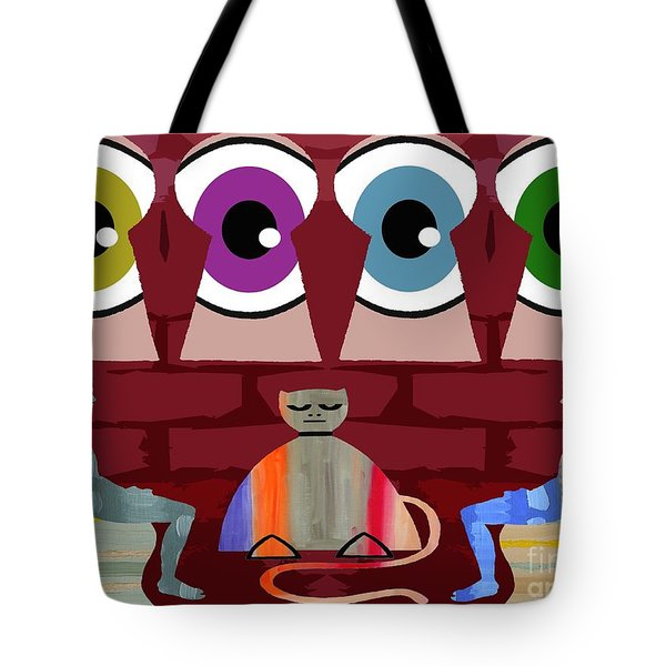 THE NEGOTIATIONS Tote Bag by Patrick J Murphy