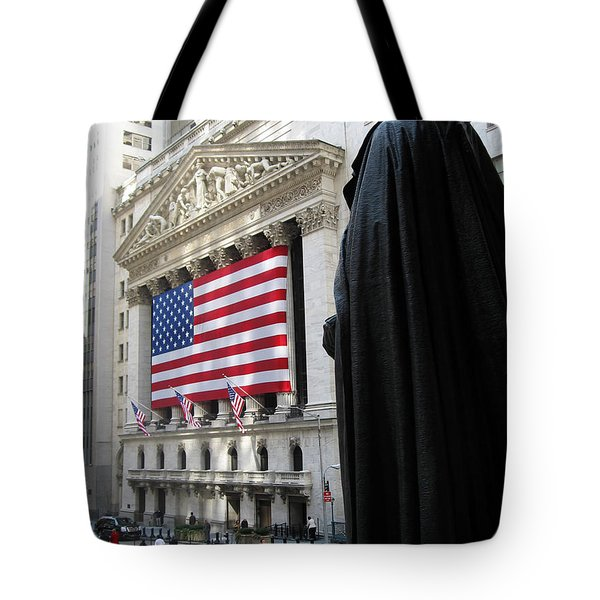 The New York Stock Exchange Tote Bag by RicardMN Photography