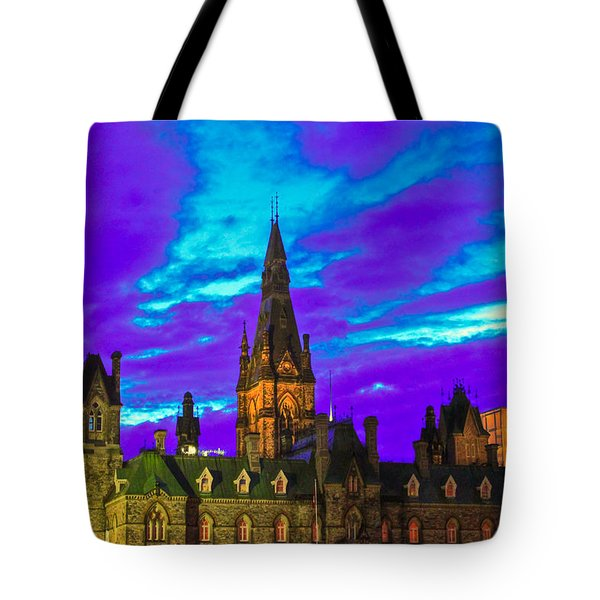 The Night Of The Thousand Spells Tote Bag by Eti Reid