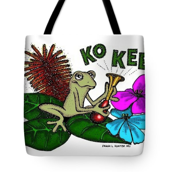 The Night Sound Of Puerto Rico Tote Bag by Frank Hunter