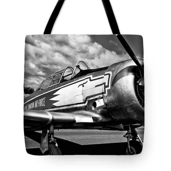 The North American T-6 Texan Tote Bag by David Patterson