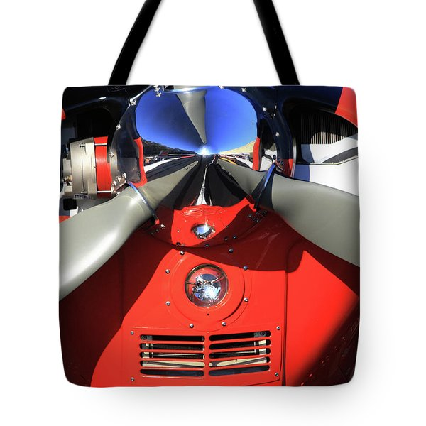 The Nose Tote Bag by Karol Livote