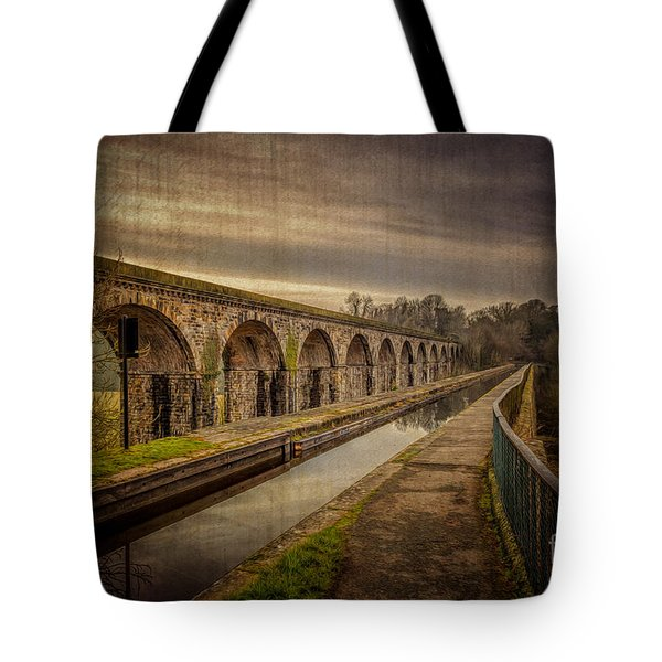 The Old Aqueduct Tote Bag by Adrian Evans