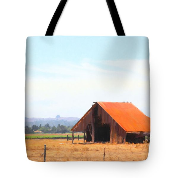 The Old Barn 5d24404 Tote Bag by Wingsdomain Art and Photography