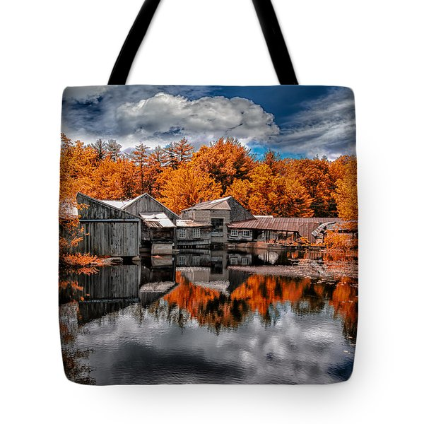 The Old Boat House Tote Bag by Bob Orsillo