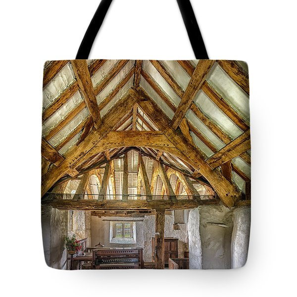 The Old Church Tote Bag by Adrian Evans