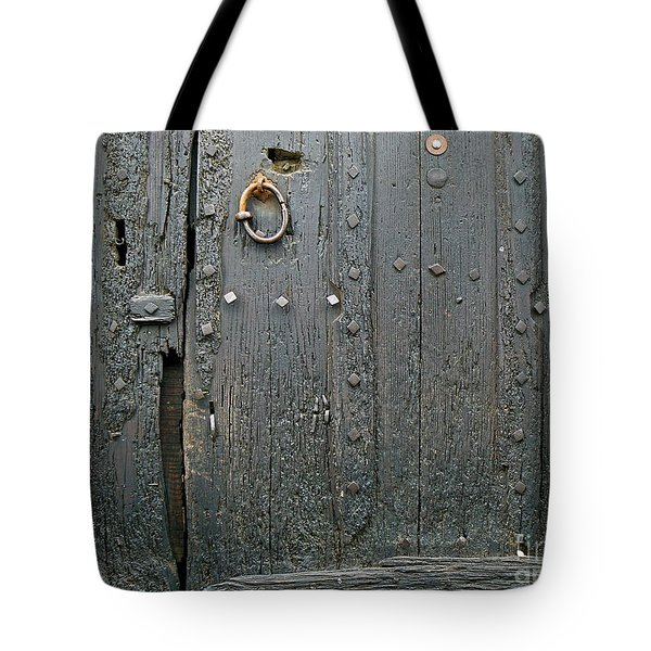 The Old Door Tote Bag by FRANCE  ART