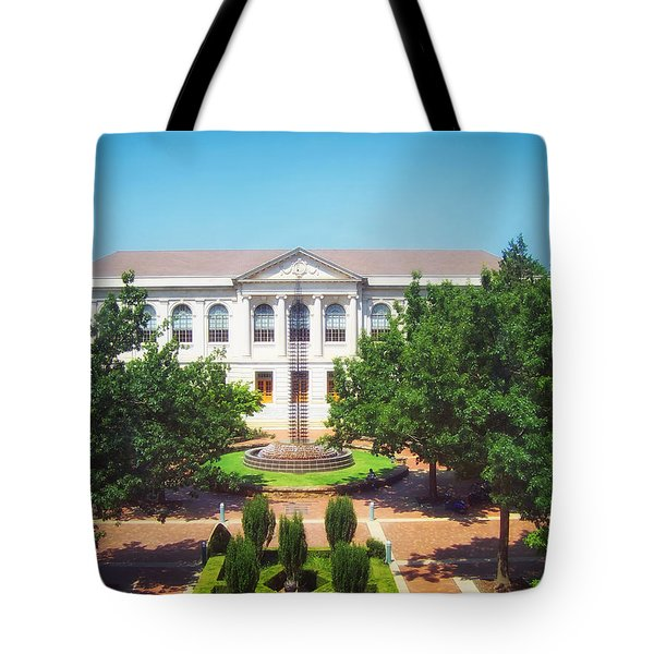 The Old Main - University Of Arkansas Tote Bag by Mountain Dreams