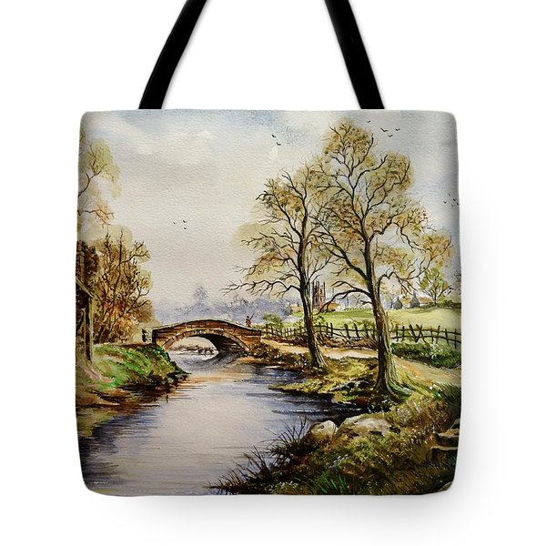 The Old Mill Path Tote Bag by Andrew Read