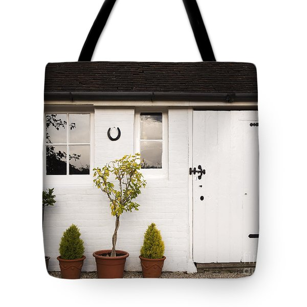 The Old Shed Tote Bag by Louise Heusinkveld