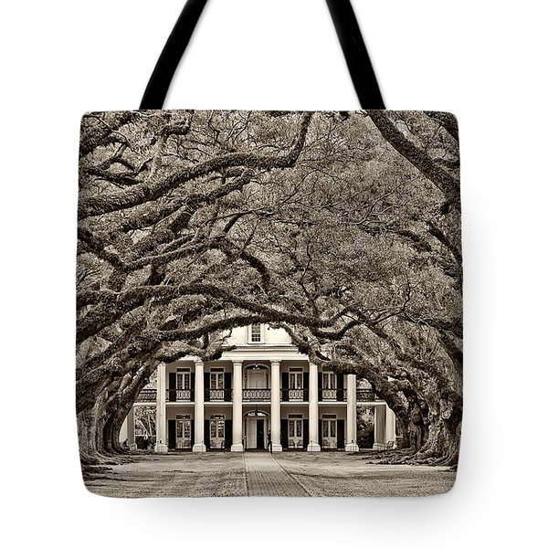 The Old South sepia Tote Bag by Steve Harrington
