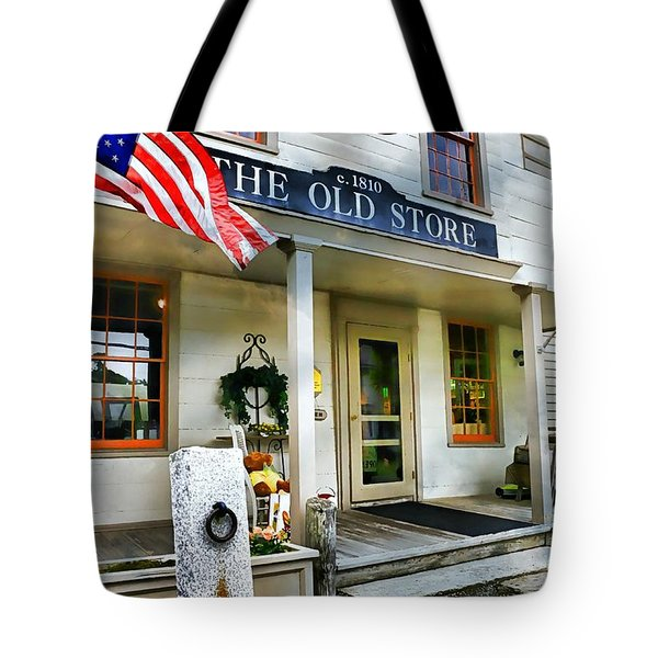 The Old Store Tote Bag by Diana Angstadt