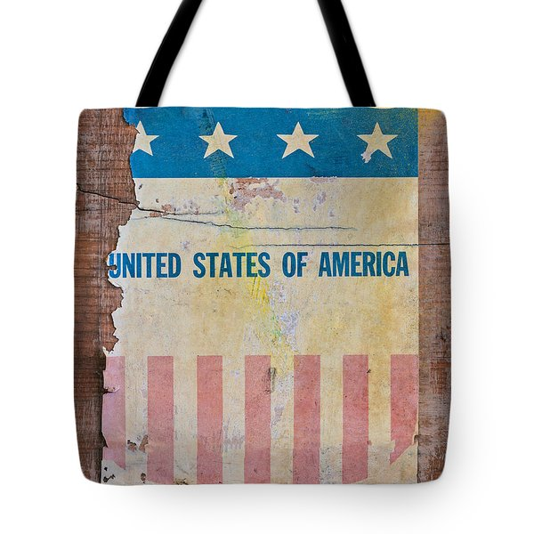 The Old Tag Tote Bag by Martin Bergsma