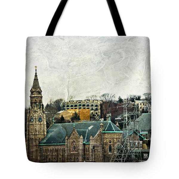 The Only Good Thing About The Highway Is The Scenery Tote Bag by Trish Tritz