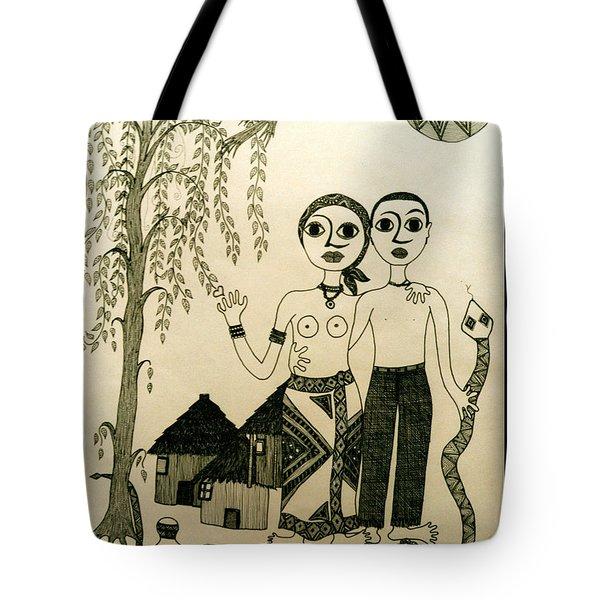 The Original Sin Tote Bag by Madalena Lobao-Tello