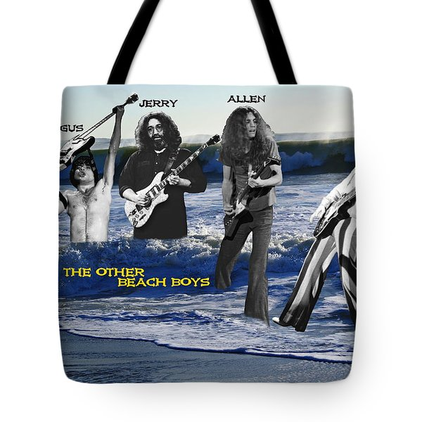 The Other Beach Boys Tote Bag by Ben Upham