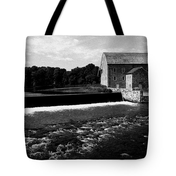 The Other Mill Tote Bag by Val Arie