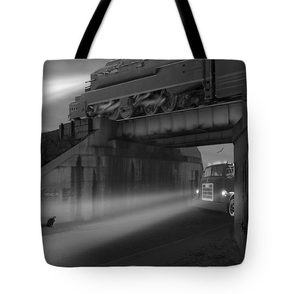 The Overpass Tote Bag by Mike McGlothlen